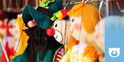 Marionettenpuppen