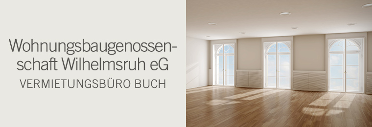 Wohnungsbaugenossenschaft Wilhelmsruh eG - Vermietungsbüro Buch