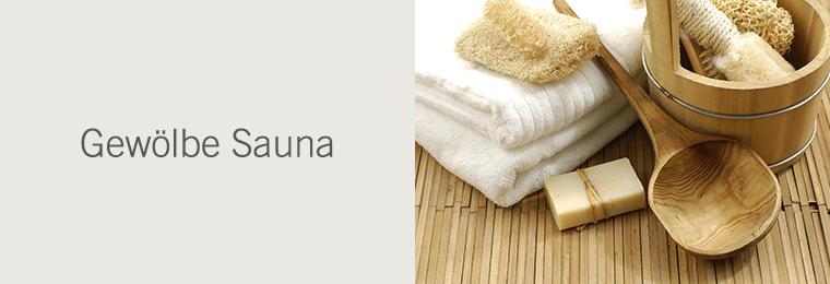 Gewölbe Sauna