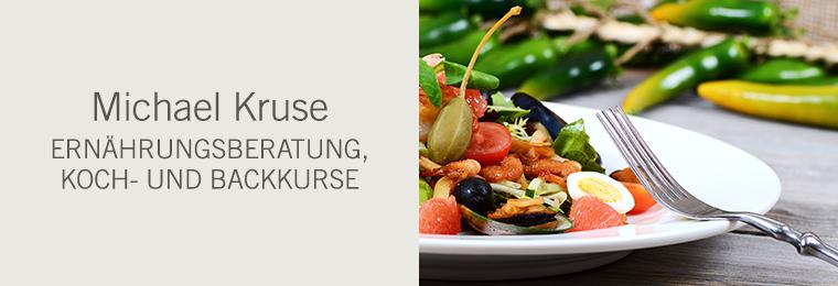 Michael Kruse - Ernährungsberatung, Koch- und Backkurse