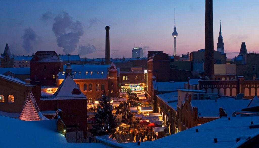 Lucia Weihnachtsmarkt in der KulturBrauerei.
