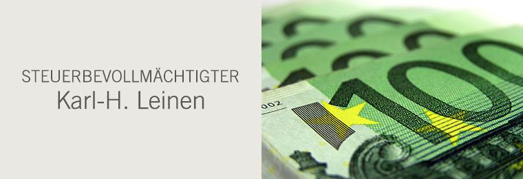 Steuerbevollmächtigter Karl-H. Leinen
