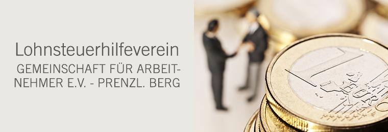 Lohnsteuerhilfeverein - Gemeinschaft für Arbeitnehmer e.V. - Berlin-Prenzlauer Berg