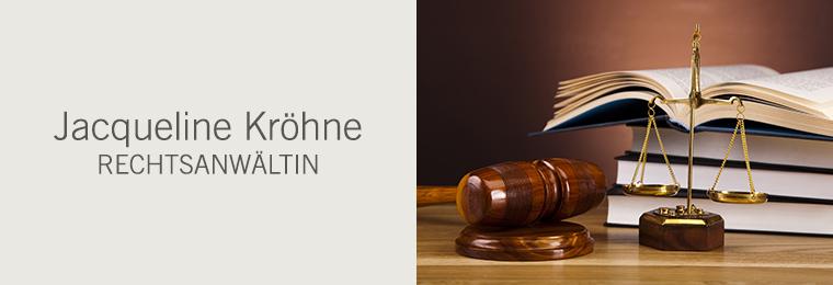 Jacqueline Kröhne - Rechtsanwältin