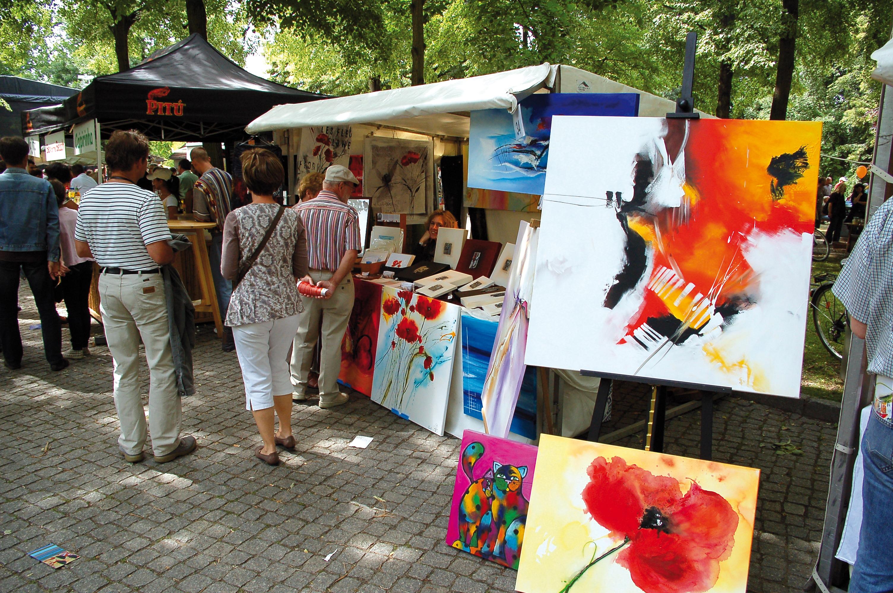 Kunstfest im Schlosspark
