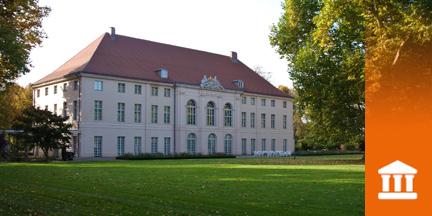 Außenansicht Schloss Schönhausen in Pankow