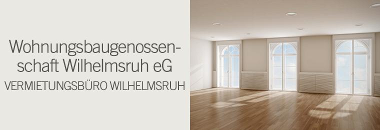 Wohnungsbaugenossenschaft Wilhelmsruh eG - Vermietungsbüro Wilhelmsruh