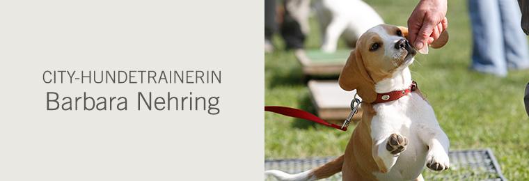 City-Hundetrainerin Barbara Nehring