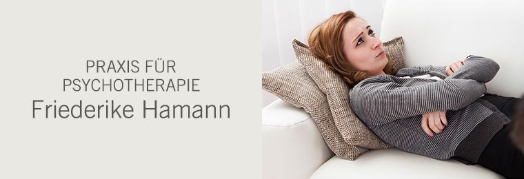 Praxis für Psychotherapie - Friederike Hamann