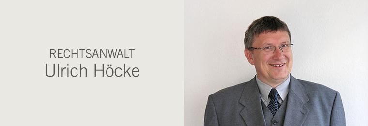 Rechtsanwalt Ulrich Höcke