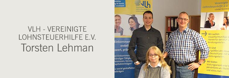 VLH - Vereinigte Lohnsteuerhilfe e.V. - Torsten Lehman