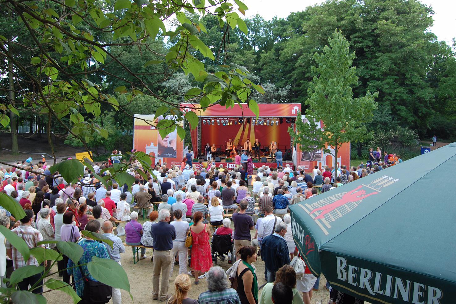 Jazz im Park - Musikalisches Pfingsten im Bürgerpark